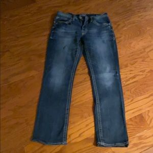 Like New Salvage Mayhem Straight Jeans 32R
